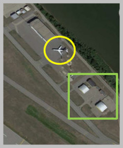 LJ Location at airport