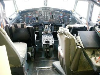 Instruments in Cockpit
